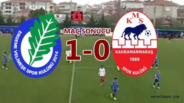 Ergene Velimeşe Spor 1-0 Kahramanmaraşspor  özet