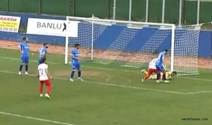 Ergene Velimeşe Spor - Kahramanmaraşspor maçının geniş özeti