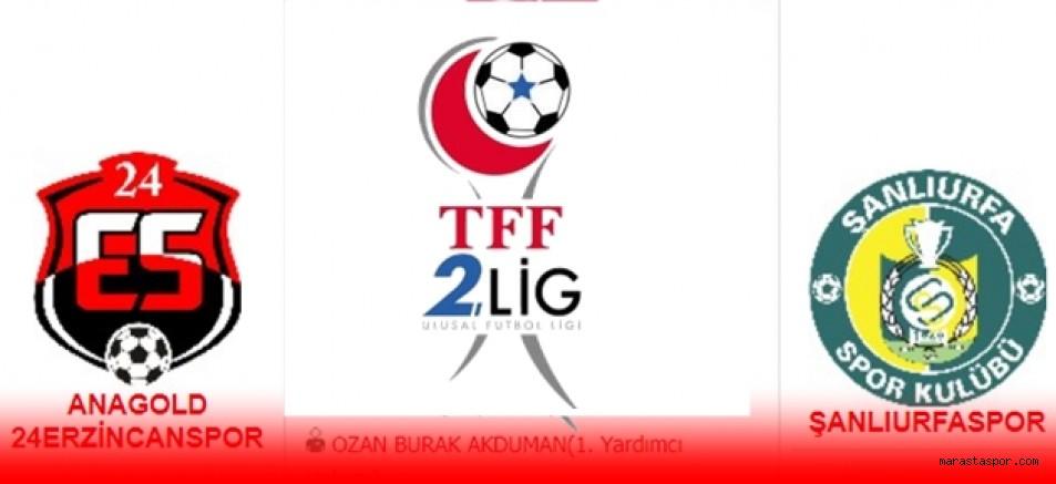 Erzincanspor Şanlıurfaspor maçı canlı izle