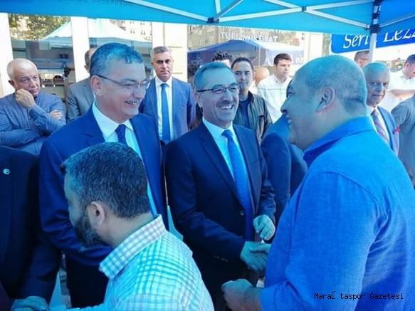 Fatih Mehmet Ceyhan Bayramlaşma Törenine Katıldı
