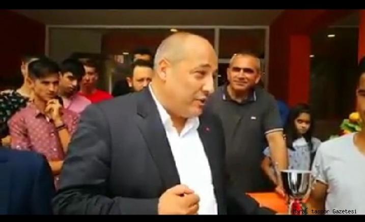 Fatih Mehmet Ceyhan'dan Alt yapı açıklaması