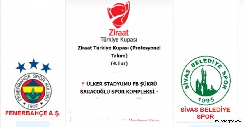 Fenerbahçe - Sivas Belediye Spor maçı ne zaman saat kaçta hangi kanalda