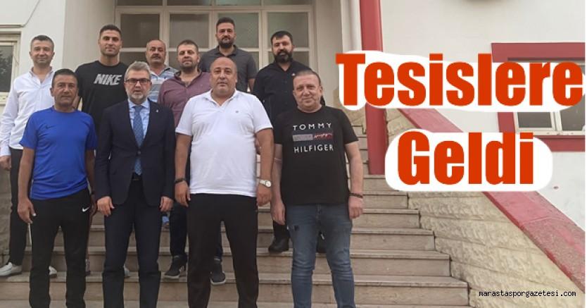 Fırat Görgel, Kahramanmaraşspor'a moral ziyaretinde bulundu
