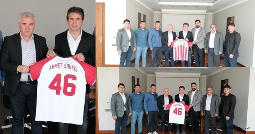 Gençlerbirliğispor'dan  Ahmet Şirikçi'ye ziyaret