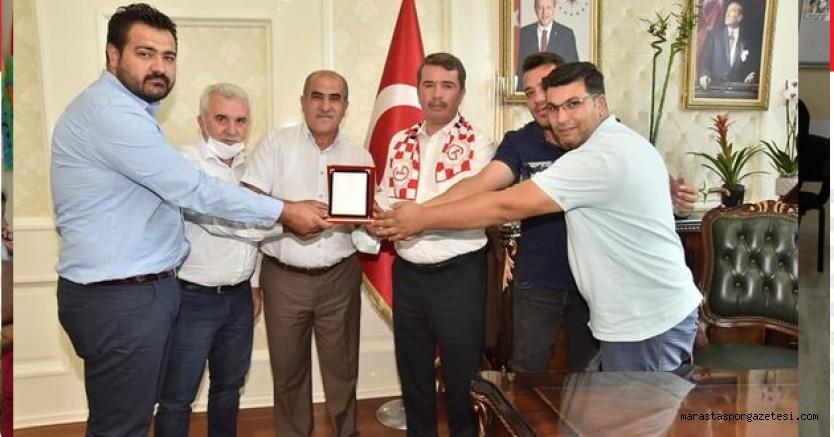 Gençlerbirliğispor'dan Başkan Osman Okumuş'a plaket