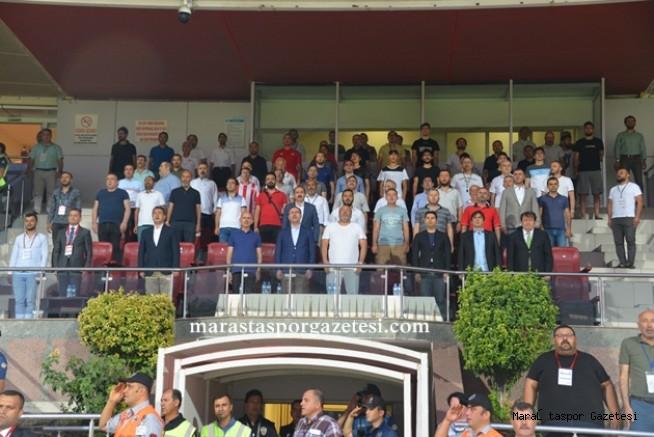 Güngör Kahramanmaraşspor'u  ilk maçta yanlız bırakmadı