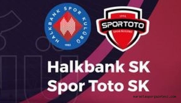 Halkbank 3-0 Spor Toto maç sonucu