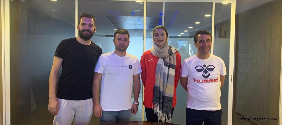 İranlı milli sporcu, Elbistanspor'da