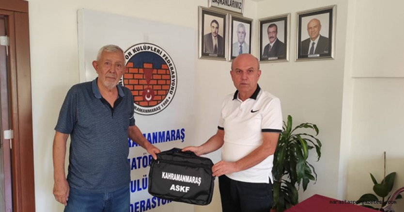 Kahramanmaraş Amatör Spor Kulüpleri Federasyonu'ndan kulüplere hediye