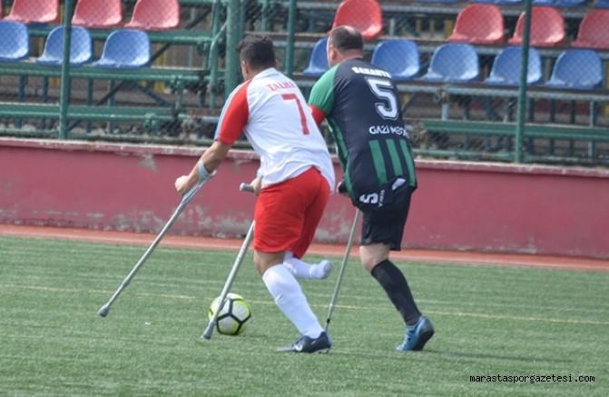 Kahramanmaraş Ampute futbol takımımız 2. Lig Müsabakalarına katılacak