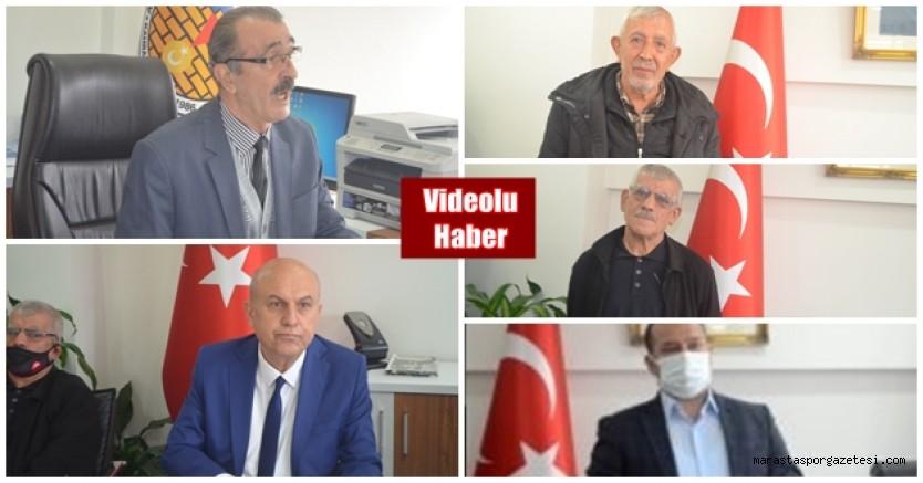 Kahramanmaraş ASKF'de Basın Toplantısı düzenlendi
