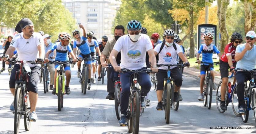 Kahramanmaraş Avrupa Hareketlilik Haftası'nda Pedalladı