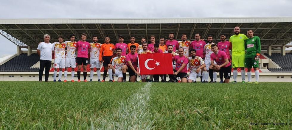 Kahramanmaraş 2005 Baro takımı Türkiye 5.oldu