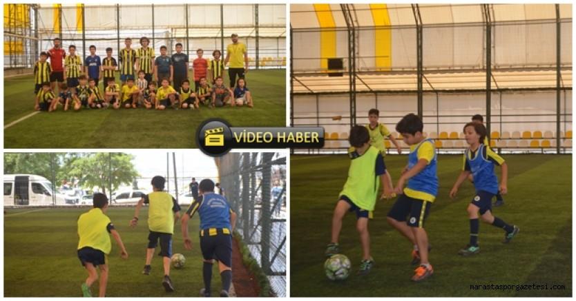 Kahramanmaraş Fenerbahçe futbol okulu çalışmaları başladı