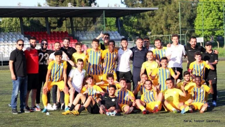 Kahramanmaraş grup şampiyonu U19 Türkiye Şampiyonu oldu