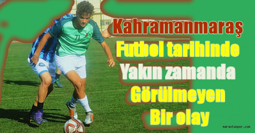 Kahramanmaraş'ın Amatör takımından U15 Milli Takımı'nın aday kadrosuna çağrıldı