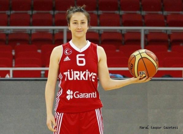Kahramanmaraş'lı  bayan basketbolcu A Milli Formayı terletecek
