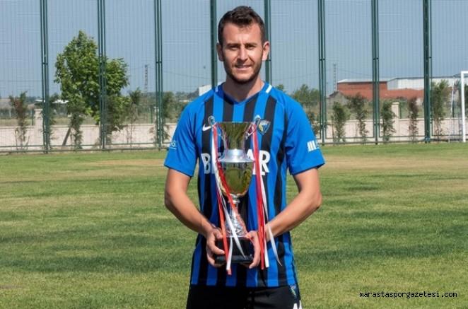 Kahramanmaraş'lı futbolcu son 7 sezonda 4 Play- off 2 şampiyonluk yaşadı