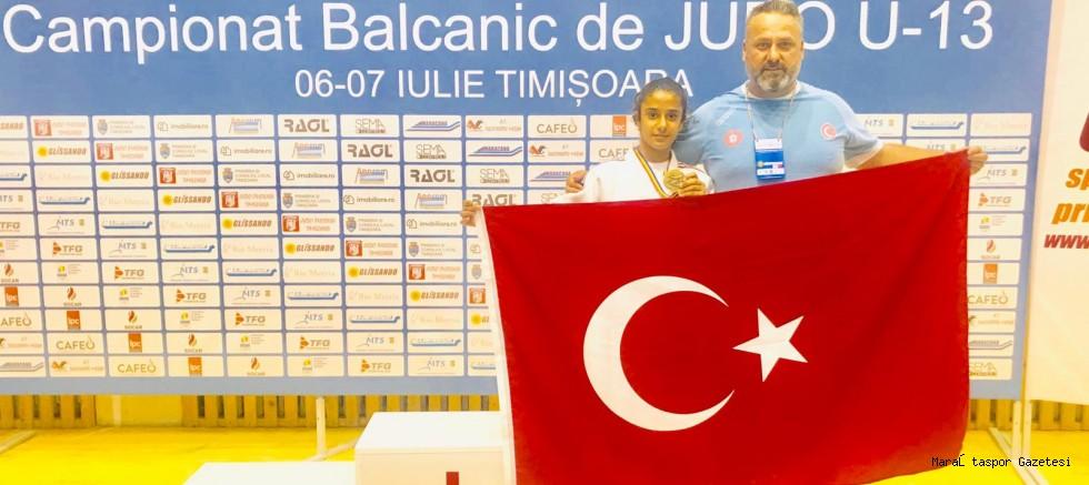 Kahramanmaraş'lı Judocu Balkan 3. Oldu