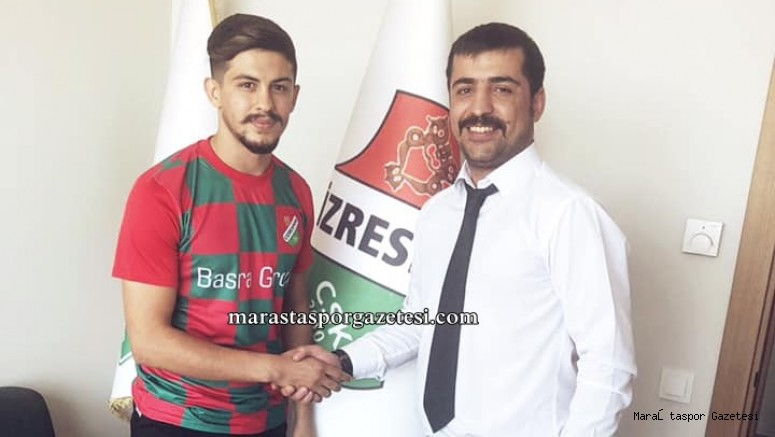 Kahramanmaraş'lı oyuncu 3.lig takımı Cizrespor ile anlaştı