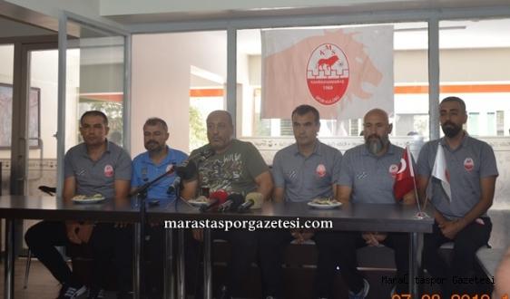 Kahramanmaraş'lı teknik ekibe emanet edildi.