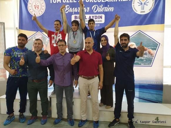 Kahramanmaraş Özel Sporcular 3 madalya kazandı