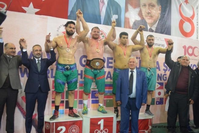 Kahramanmaraş Şalvar Güreşi Dünya Şampiyonası'na ev sahipliği yaptı