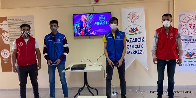 Kahramanmaraş'ta Bir İlk ! Pazarcık'ta E-Spor  Merkezi Kuruldu