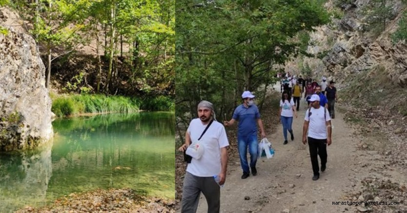 Kahramanmaraş'ta Doğa Yürüyüşleri'nin İlki Göksun'da Gerçekleşti