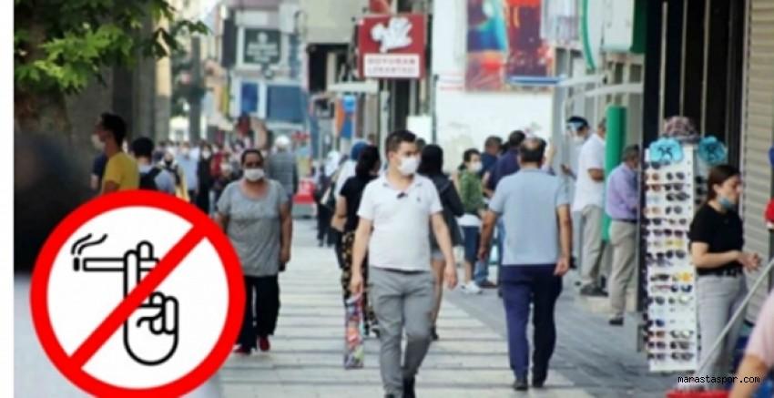 Kahramanmaraş'ta sigara içmek yasaklandı!