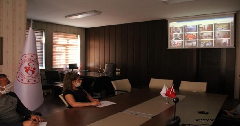 Kahramanmaraş'tan 2 antrenör Spor Bakanı ile görüştü