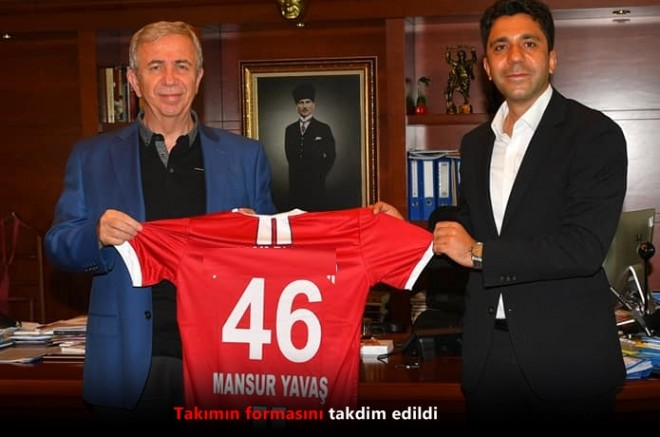 Kahramanmaraş'tan Mansur Yavaş'a 46 numaralı  forma