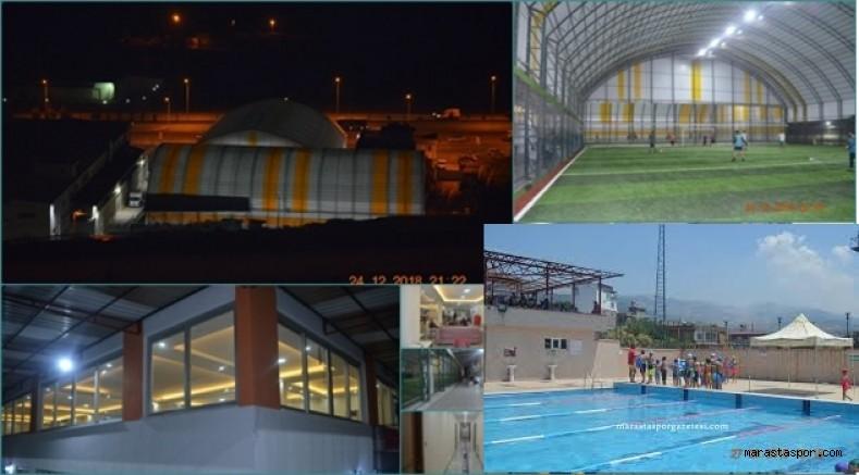 Kahramanmaraş Valiliğinden Halı sahalar, spor salonları ve Yüzme havuzları için  yeni karar