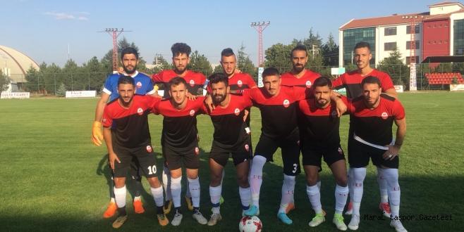 Kahramanmaraşspor son hazırlık maçını oynadı