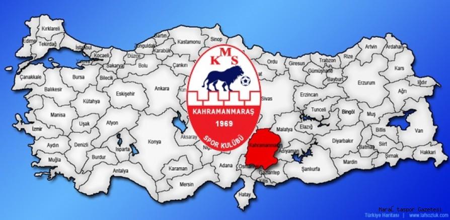 Kahramanmaraşspor 15 farklı şehire deplasmana gidecek