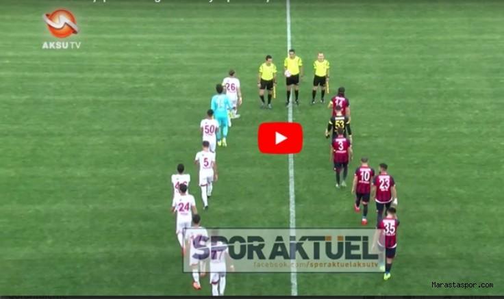 Kahramanmaraşspor 2-0 Niğde Belediyespor Maçın Özeti