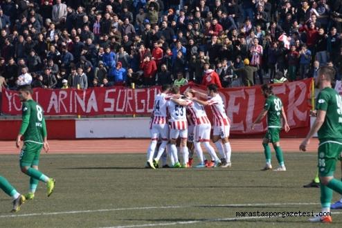 Kahramanmaraşspor  Sivas'i eli boş gönderdi