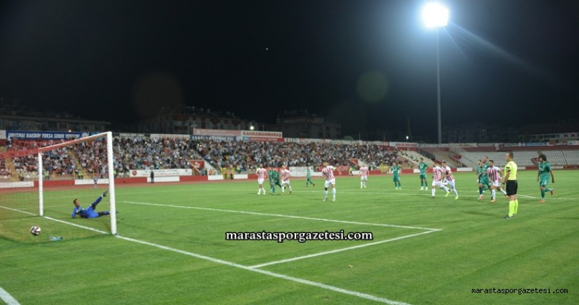 Kahramanmaraşspor 2-1 Etimesgut Belediyespor maçın golleri