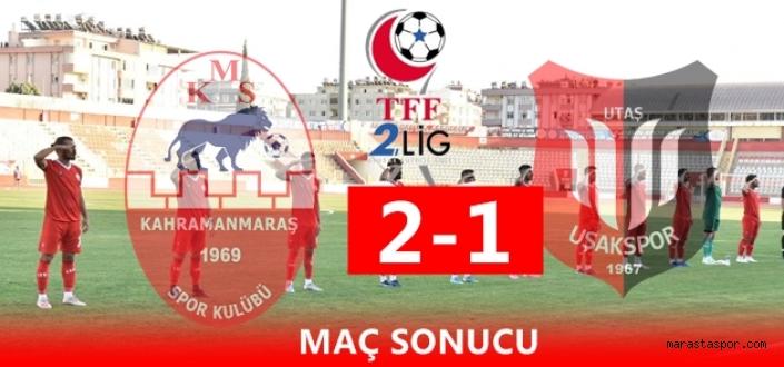 Kahramanmaraşspor 2-1  Uşakspor özet