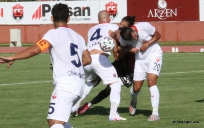 Kahramanmaraşspor 2.Lig Beyaz Grupta 4 Maç Geriden Geliyor