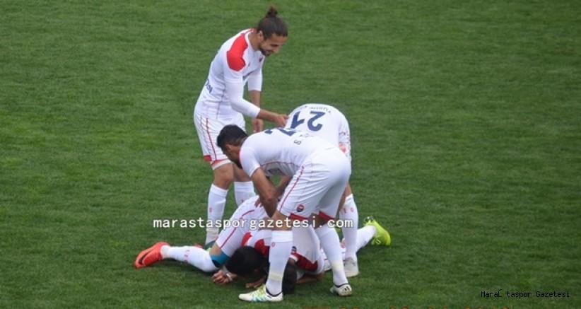 Kahramanmaraşspor 3-0 Zonguldak Kömürspor maçının golleri