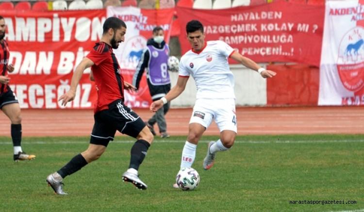 Kahramanmaraşspor 3 maç sonra puanla tanıştı