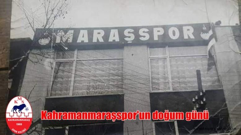 Kahramanmaraşspor 52 yaşında