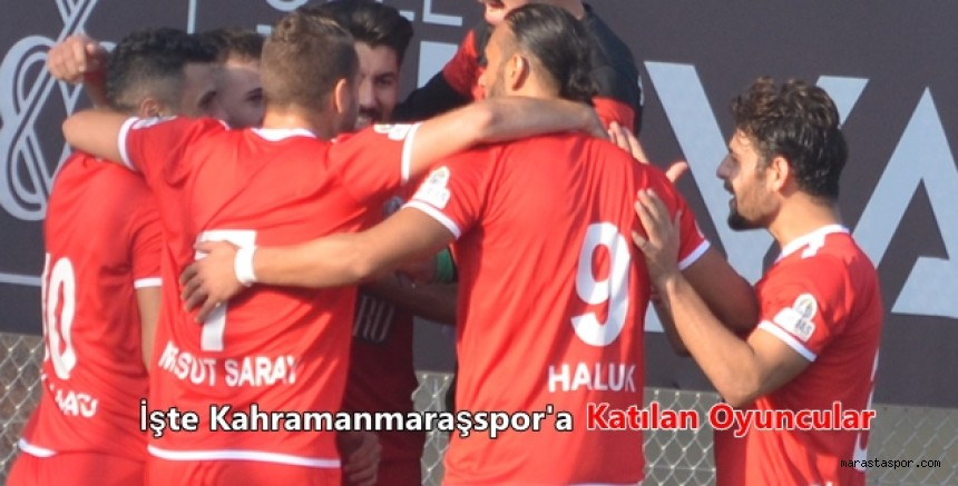 Kahramanmaraşspor'a 4 yeni isim  geldi