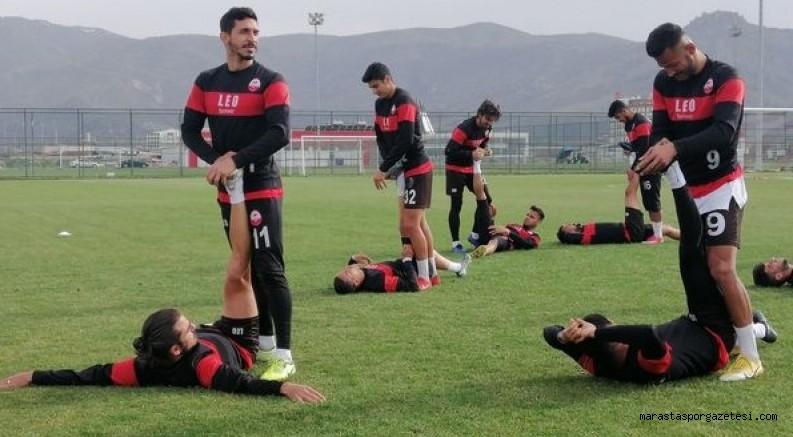 Kahramanmaraşspor, Afyonspor maçı hazırlıklarını Afyon'da tamamladı