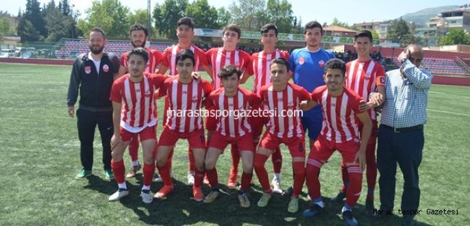 Kahramanmaraşspor Amatör'den gol yağmuru
