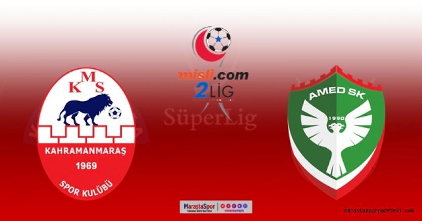 Kahramanmaraşspor - Amedspor maçı ne zaman saat kaçta hangi kanalda? İşte Detaylar