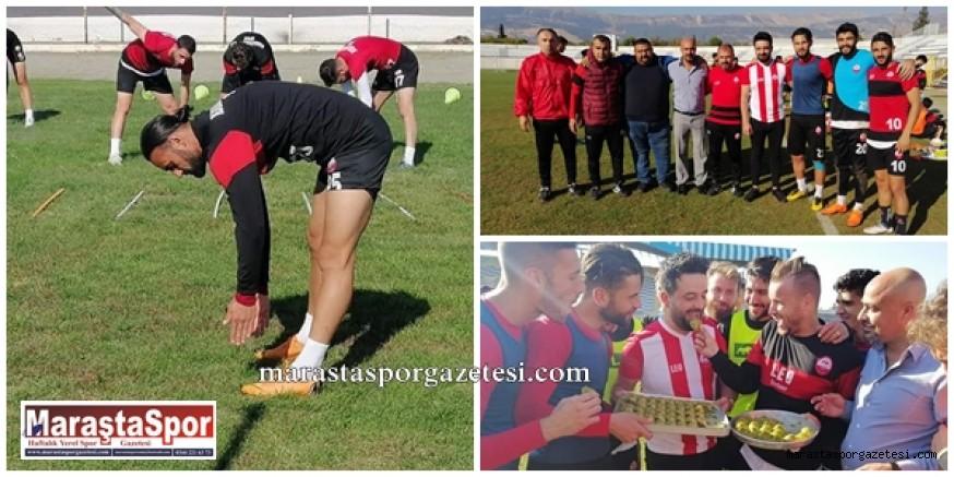 Kahramanmaraşspor, Bandırmaspor sürdürmeye devam etti
