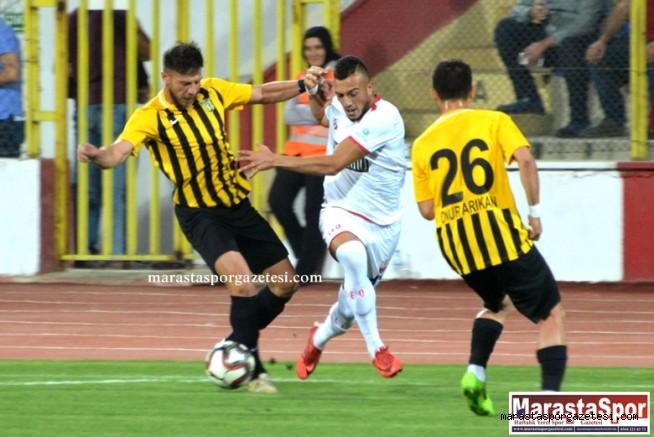 Kahramanmaraşspor - Bayburt Özel İdarespor maç özeti