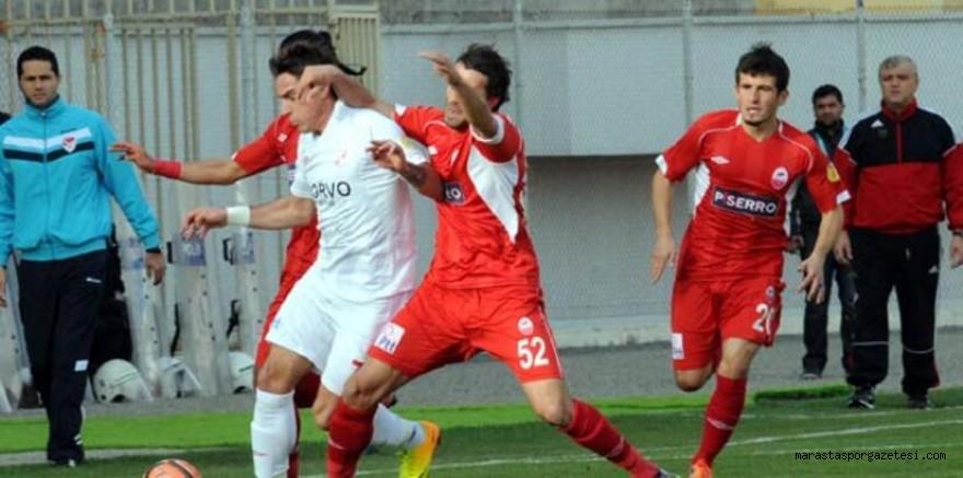 Kahramanmaraşspor - Boluspor özet PTT 1.lig